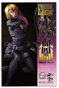 Executive Assistant Violet #1 Cvr B (Aspen, 2011) FN/VF