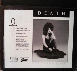 DEATH Statue, Neil Gaiman, Randy Bowen 1993 MIB more Vertigo in store Full size