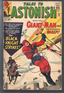 TALES TO ASTONISH 52 GVG 3.0 1st APPEARANCE BLACK KNIGHT