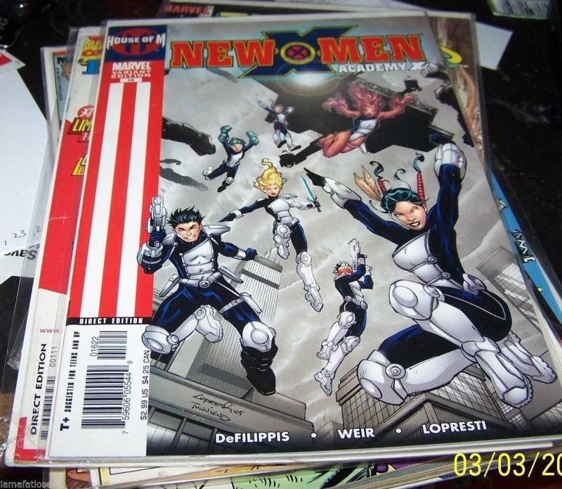 new x men comic # 16  academy x -house of m- variant cover X23