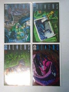 Aliens #1,2,3,5 8.5 VF+ (1988 #1 is 5th Printing)