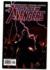 New Avengers #1 2005 1st issue Spider-Man joins NM-