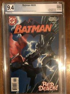 Batman #635 PGX Graded 9.4 First App of Jason Todd as Red Hood