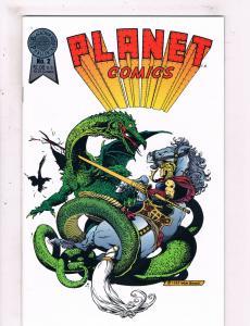 Planet Comics #2 NM Blackthorne Publishing Comic Book DE25