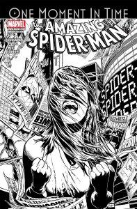 AMAZING SPIDER-MAN #639 1:100 JOE QUESADA SKETCH VARIANT NM.