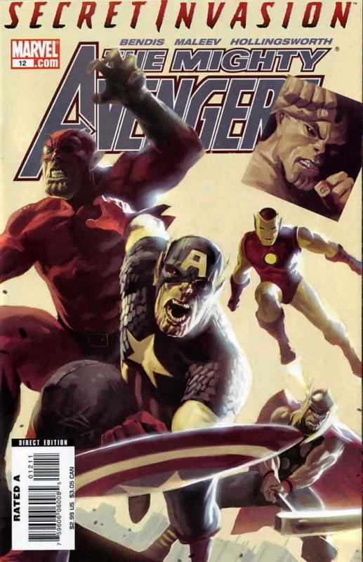 Mighty Avengers #12 VF/NM; Marvel | save on shipping - details inside