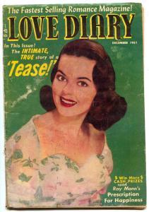 Love Diary #23 1951- TEASE- Golden Age Romance G