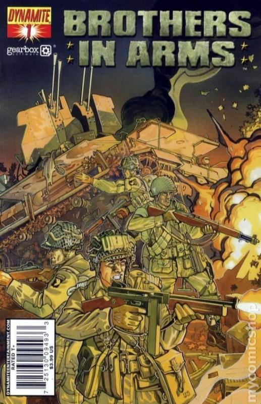 BROTHERS in ARMS #1, NM, WWII, War, Battle, 2008, more indies in store