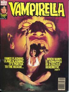 Vampirella #72 1978-Warren-Good Girl Art cover-Nicola Cuti-FN