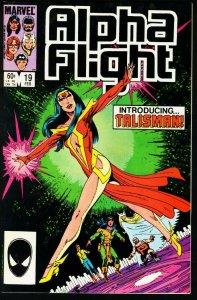 ALPHA FLIGHT #19-MARVEL COMICS-MUTANTS! NM