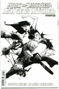 ARMY OF DARKNESS Ash Gets Hitched #2, VF/NM, Variant, Bruce Campbell, 2014