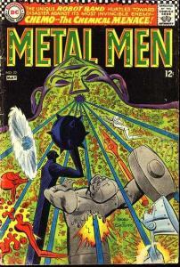 Metal Men (1963 series) #25, Fine (Stock photo)