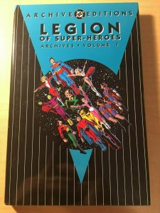Legion of Super-Heroes Archives Vol. 7 DC Comic Book HARDCOVER Graphic MFT2