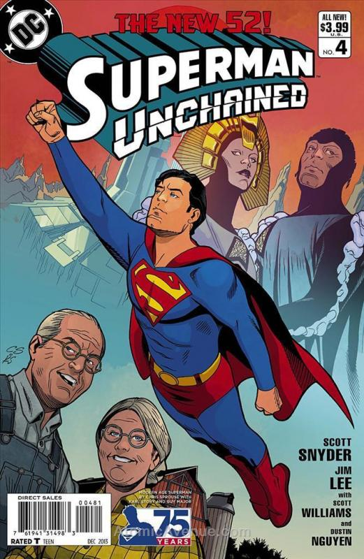 Superman Unchained #4G VF/NM; DC | save on shipping - details inside
