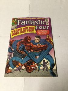 Fantastic Four 42 5.5 Fn- Fine-