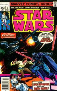 Star Wars #6 (2nd) VG; Marvel | low grade comic - save on shipping - details ins