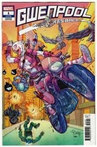 Gwenpool Strikes Back #1 Lubera Variant (Marvel, 2019) NM