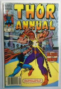 Thor (1st Series) Annual #12, Newsstand Edition 7.0 (1984)