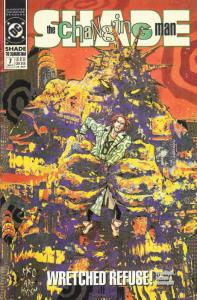 Shade, The Changing Man (2nd Series) #7 VF/NM; DC | save on shipping - details i