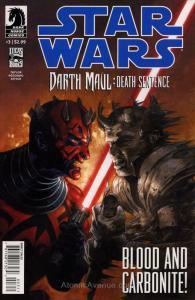 Star Wars: Darth Maul—Death Sentence #3 FN; Dark Horse | save on shipping - deta