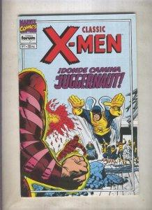 Classic X Men volumen 2 numero 07: Donde camina el Juggernaut (numerado 1 en ...
