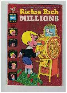RICHIE RICH MILLIONS (1962-1982) 40 VG Mar. 1970