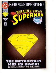 7 Comics Superman 501 22 Icon 12 Legion 33 Justice 87 Batman Spider-Man 1 J316