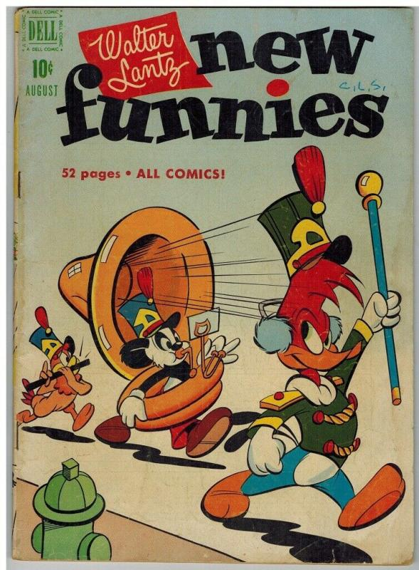 NEW FUNNIES 174 G-VG Aug. 1951