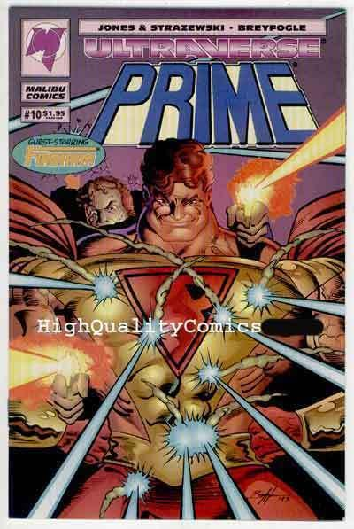 PRIME #10, NM+, Malibu, Ultraverse, Gerald Jones,Breyfogle,more Indies in store