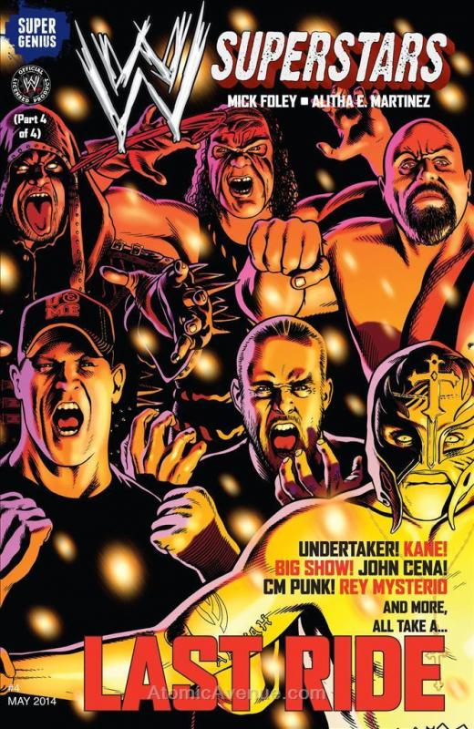 WWE Superstars (Vol. 1) #4 VF; Super Genius | save on shipping - details inside