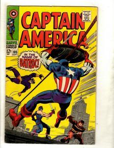 Captain America # 105 FN Marvel Comic Book Avengers Hulk Thor Iron Man GK2