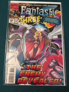 Fantastic Four #384 Malice returns in ... The Enemy Revealed!