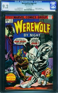 Werewolf by Night #32 First Moon Knight CGC 9.2 1225983004