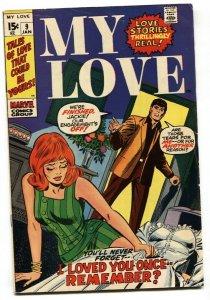 My Love #9 1971-Gene Colan-Don Heck-wedding dress-VG