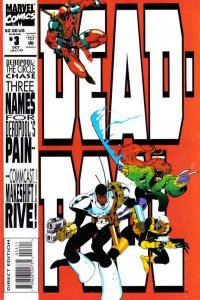 Deadpool: The Circle Chase #3, NM- (Stock photo)