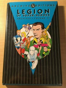 Legion of Super-Heroes Archives Vol. 5 DC Comic Book HARDCOVER Graphic MFT2