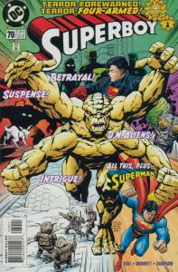 Superboy (3rd Series) #70 VF/NM; DC | save on shipping - details inside