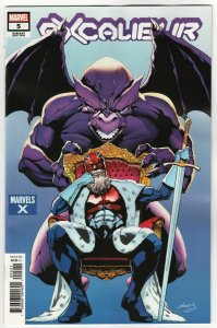 Excalibur #5 Sliney Marvels X Variant (2020) NM
