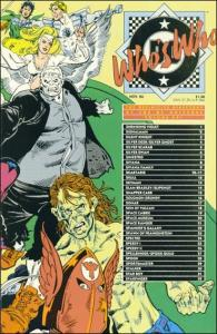 DC WHO'S WHO: THE DIFINITIVE DIRECTORY OF THE DC UNIVERSE #21 FN
