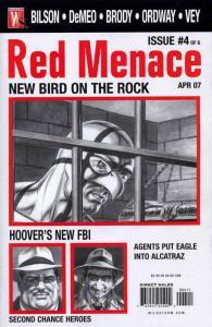 Red Menace #4 FN; WildStorm | save on shipping - details inside