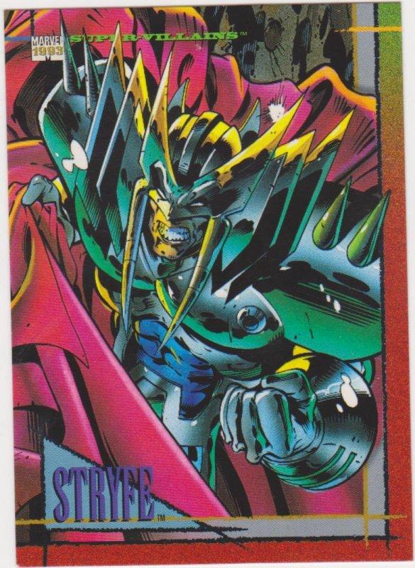 1993 Marvel Universe #36 Stryfe