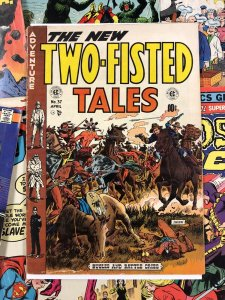Two-Fisted Tales #37 G+ 2.5 wood cover FRAZETTA art 1952 golden age WESTERN