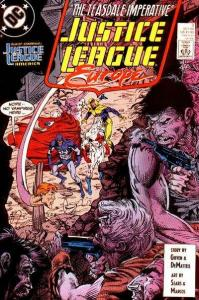 Justice League Europe #7, VF- (Stock photo)