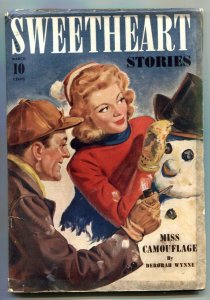Sweetheart Stories Pulp March 1943- Miss Camouflage FN-