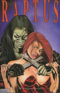Raptus #1A VF/NM; Knight Angel | save on shipping - details inside
