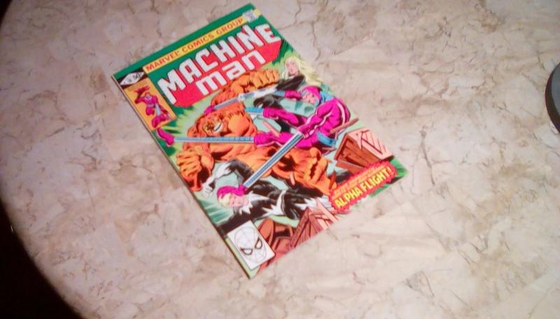 Machine Man #18 (December 1980 ) ALPHA FLIGHT APPEARANCE in VG 4.0 or BETTER