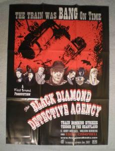 BLACK DIAMOND DETECTIVE AGENCY Promo Poster, 2007, Unused, more in our store