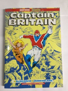 Captain Britain Nm Near Mint Sc Softcover Marvel