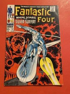Fantastic Four #72 (1968) Silver Surfer