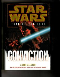 CONVICTION Star Wars Aaron Allston HARDCOVER Fate Of The Jedi Novel Book J380